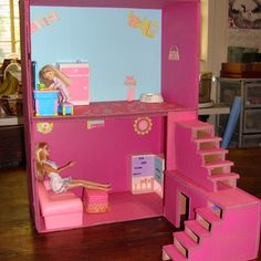 Our wooden toy dolls house collection has a scope of the police chase different varieties and measures, our wooden dolls buildings are delightfully detailed with illustrations inside and out. Cardboard Dollhouse, Diy Dollhouse, Fashion Royalty Dolls, Love Craft, Wooden Dolls, Business For Kids, Doll Toys, Cool Things To Make, Toy Chest