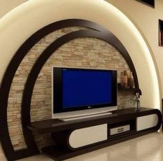 Tv design furniture tv unit 13 ideas about modern tv wall units to impress you projects Wall Unit Designs, Living Room Tv Unit Designs, Tv Wall Design, Lcd Unit Design, Modern Tv Cabinet, Modern Tv Wall Units, Modern Wall, Modern Living, Tv Wanddekor