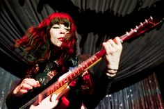 The Dum Dum Girls by gussifer   thecolorawesome.com, via Flickr