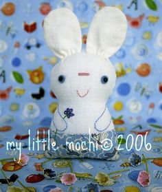 chibi bunny and kitty free pattern and tutorial