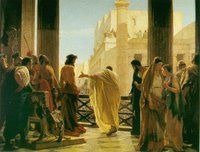 History of Pontius Pilate: his background before Good Friday