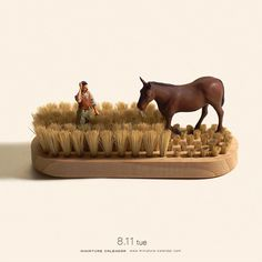 Miniature Dioramas by Tatsuya Tanaka | Faith is Torment | Art and Design Blog