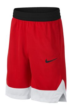 With Dri-Fit technology, your future basketball pro will dunk, run, pass, and do more in his sweat whicking Nike shorts! Pull-on style. ImportedThis item cannot be shipped to Canada. Nike Dri Fit, Cotton Shorts Women, Junior, Sport Wear, Nike Shorts, Big Boys, T Shirt, Product Launch, Nordstrom