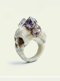 SKULL RING on Chiq $217.00 http://www.chiq.com/skull-ring-1