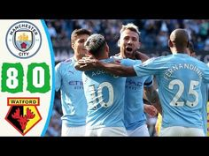 Manchester City vs Watford 7−0   All Gоals & Extеndеd Hіghlіghts   2019 ...