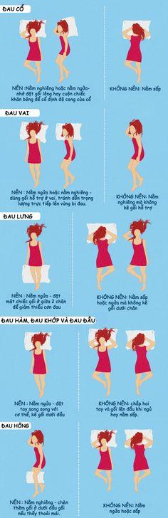 Tin Sức Khỏe Tư thế nên và không nên ngủ khi bạn bị đau đầu lưng