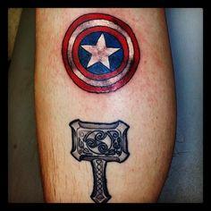 #lowcardtattoo #pittsburghtattoo #pittsburghtattooartists #pittsburgh #art #tattoo #marveltattoo