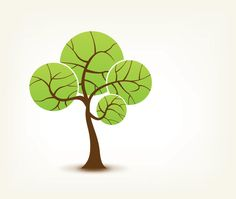 """""""Spring Tree """", vector graphic by DryIcons.com - available with Free, Commercial and Extended License."""
