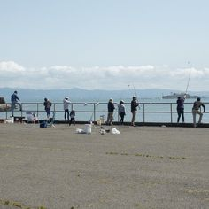 Fishing in San Francisco - Sausalito, California