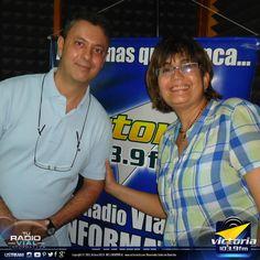 Dos de los #talentos de #TuRadioVialInformativa ... Thaelman Félez (@ThaelmanFelez) de #SoloConThaelman y Pio Vona (@PioVona) de #PisionAzzurra. Síguelos en #twitter.
