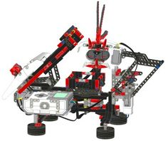 Solve a Rubik's Cube with just one EV3 set - Robot Square