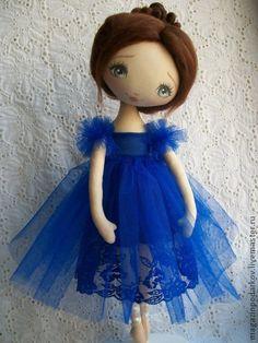Коллекционные куклы ручной работы. Ярмарка Мастеров - ручная работа Кукла интерьерная Балерина. Handmade.
