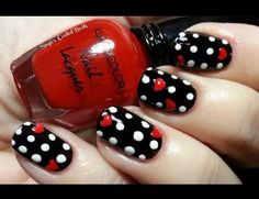 Especial de polka nails - Mi favorito