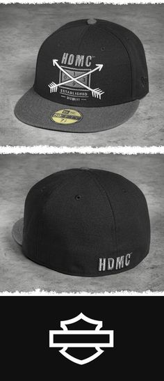 3290c315194 HDMC™ Arrow Cap at the Official Harley-Davidson Online Store. Crafted by  the top manufacturer of baseball caps