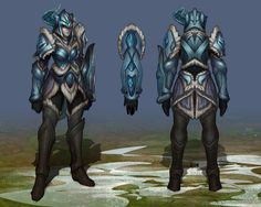 Sejuani, the Winter's Wrath - Visual Update, Michael Maurino on ArtStation at http://www.artstation.com/artwork/sejuani-the-winter-s-wrath-visual-update
