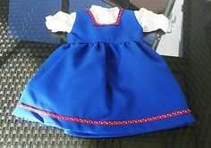 Puppenkleidung-Puppenkleid-kleid-Bluse-NostalgiePuppen-Schildkroetpuppe-70