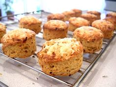 Gluten-Free Chive Scones with Thermomix