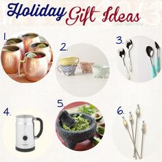 Holiday Gift Ideas from Lexi's Clean Kitchen