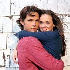 Jared Padalecki amd Alexis Bledel, promo shoot Gilmore Girls.