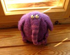 Lilac elephant, looks like the little elephants of Otto Waalkes (German comedian)