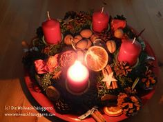 I love it ... every sunday before xmas just one more candle is lightening