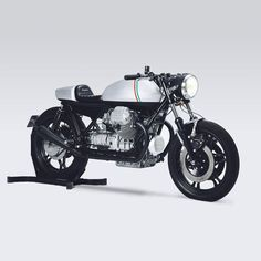 New from London's Untitled Motorcycles—'Vivo,' a sleek Moto Guzzi 850 T3 cafe racer.