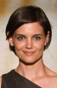 Katie Holmes Hair - Watch Katie Holmes's transformation over the years from her single, post-Dawson's Creek life, to dating Tom Cruise, to motherhood, to marriage, from long hair, to short and back to long hair again.: A Lighter Color, No Bangs