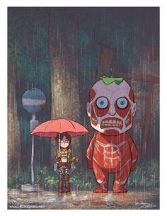 Mon Voisin Totoro - L'Attaque des Titans