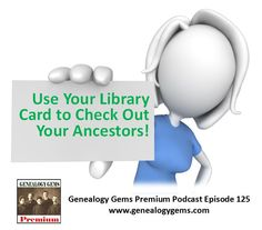 Learn three quick tips from a new podcast episode to help you research your family history at the public library, which is both free and convenient! #genealogy