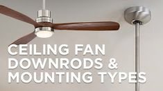 This handsome ceiling fan offers modern styling with vintage appeal and is rated for damp location installation. Oil-brushed bronze finish, five dark walnut finish blades. Integrated light with frosted white painted glass. Style # at Lamps Plus. Brushed Nickel Ceiling Fan, Bronze Ceiling Fan, Led Candelabra Bulbs, Outdoor Ceiling Fans, Led Ceiling, Hugger Ceiling Fan, Contemporary Ceiling Fans, Slanted Ceiling, Cage Light