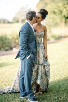 Yolan Chris wedding dress | Wedding & Party Ideas | 100 Layer Cake
