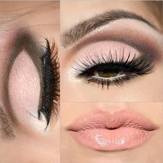 cut crease eye makeup look