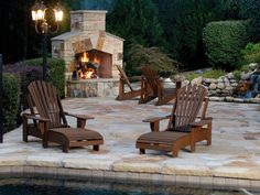 Decoration in Backyard Fireplace Ideas Top 10 Outdoor Fireplace Designs Interior Exterior Ideas Outdoor Wood Burning Fireplace, Outdoor Stone Fireplaces, Outside Fireplace, Outdoor Fireplace Designs, Backyard Fireplace, Fireplace Ideas, Cozy Fireplace, Outdoor Rooms, Outdoor Living