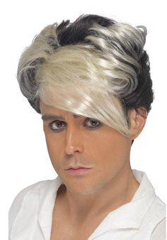80''s Waterfall Quiff Wig
