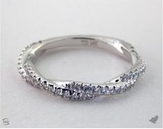 James Allen twisted pave wedding ring - Mother's Day wish list!