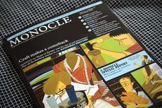 Monocle Magazine - Illustration by Gaku Nakagawa