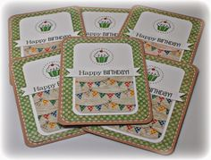 "Simply Elegant Paper Crafts blog; SRM Stickers (Birthday); BasicGrey ""Life of the Party"" 12x12"