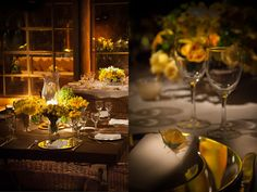 decoração casamento amarelo disegno