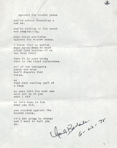The world's premiere Charles Bukowski website and forum. The only place where you can see over 1,400 poem and letter manuscripts or search our exclusive database for a poem or story.
