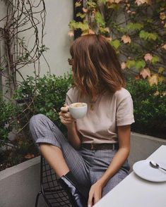 I love this awesome fashion pictures! I love this awesome fashion pictures! Mode Outfits, Casual Outfits, Fashion Outfits, Womens Fashion, 90s Fashion, Earthy Outfits, Fashion Spring, Looks Style, Style Me