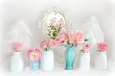 Shabby Chic Roses Photography Romantic Shabby Chic by KathyFornal