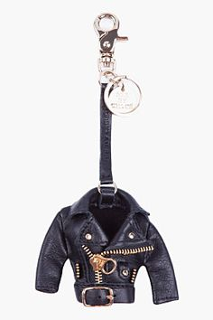 SEE BY CHLOE Biker Jacket Keychain - I want this NOW!!!!