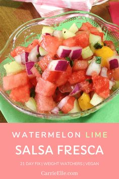 21 Day Fix Watermelon Dinner Party Recipes, Appetizer Recipes, Snack Recipes, Healthy Recipes, Appetizer Dips, Healthy Meals, Healthy Food, Ww Recipes, Whole Food Recipes