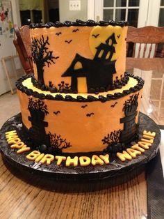 Surprising 26 Best Haunted House Cake Images Haunted House Cake House Cake Funny Birthday Cards Online Inifofree Goldxyz