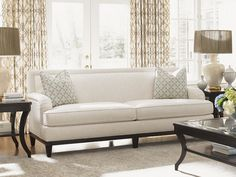 Shop the Kensington Place Recessed Arm Sofa at Perigold, home to the design world's best furnishings for every style and space. Belfort Furniture, Sofa Furniture, Furniture Making, Tight Back Sofa, Kensington Place, Lexington Home, Soft Seating, Exposed Wood, Best Sofa