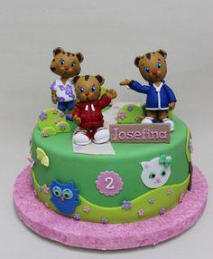 Daniel el Tigre Cake