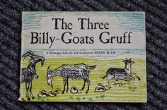 Book Blab - Blithering By a Book Lover: The Three Billy-Goats Gruff