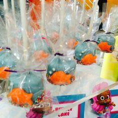 Bubble cake (cake pops)