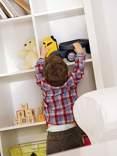 Chores for Busy Toddlers: Pick Up Toys & Books (via Parents.com)
