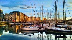 Puerto deportivo, Gijón.